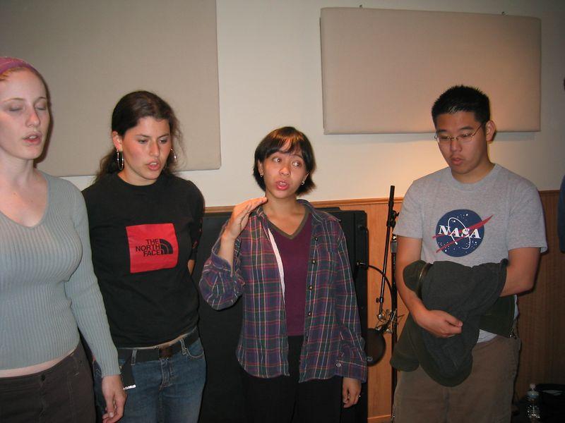 Sylvia, Rebecca, AnnMarie, & Kenji