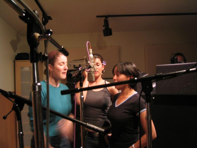 Altos Sylvia, Rebecca, & AnnMarie