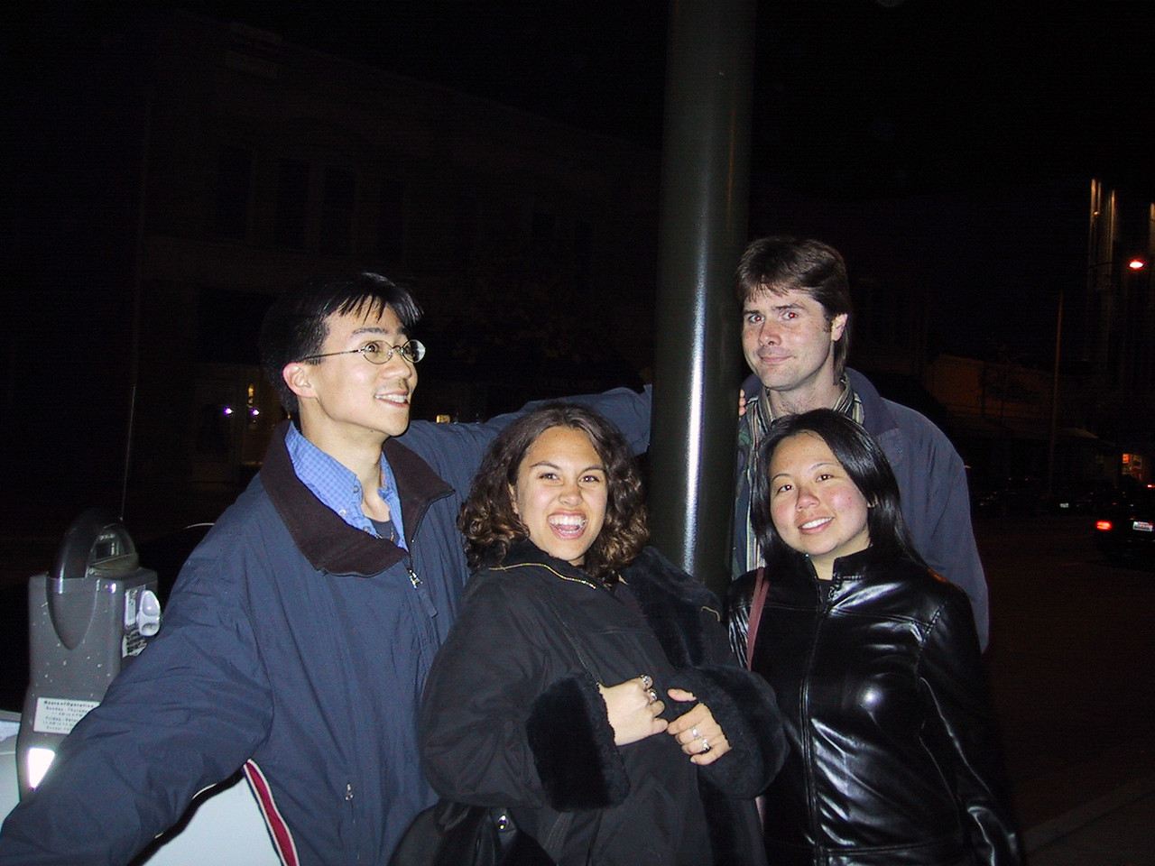 Ben, Jackie, Rhett, & Xiao-Wei in Old Town