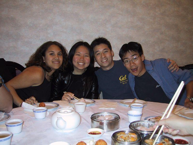 Jackie, Xiao-Wei, Lenny, & Ben @ Dim Sum