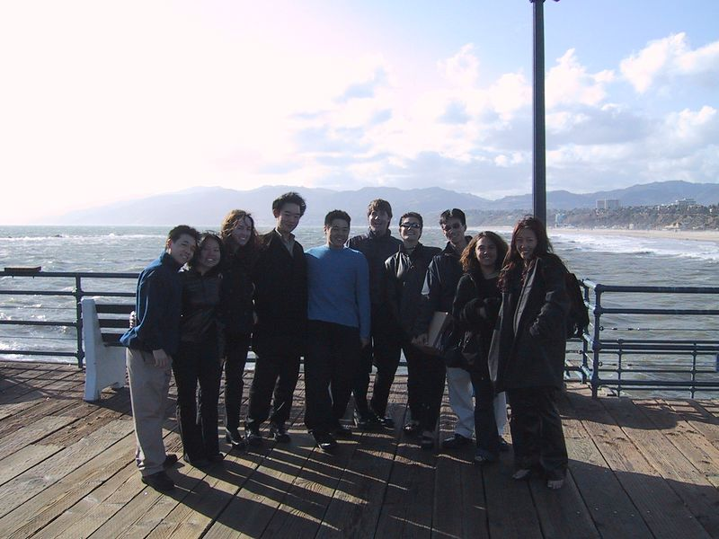 Group Pic @ Santa Monica Pier
