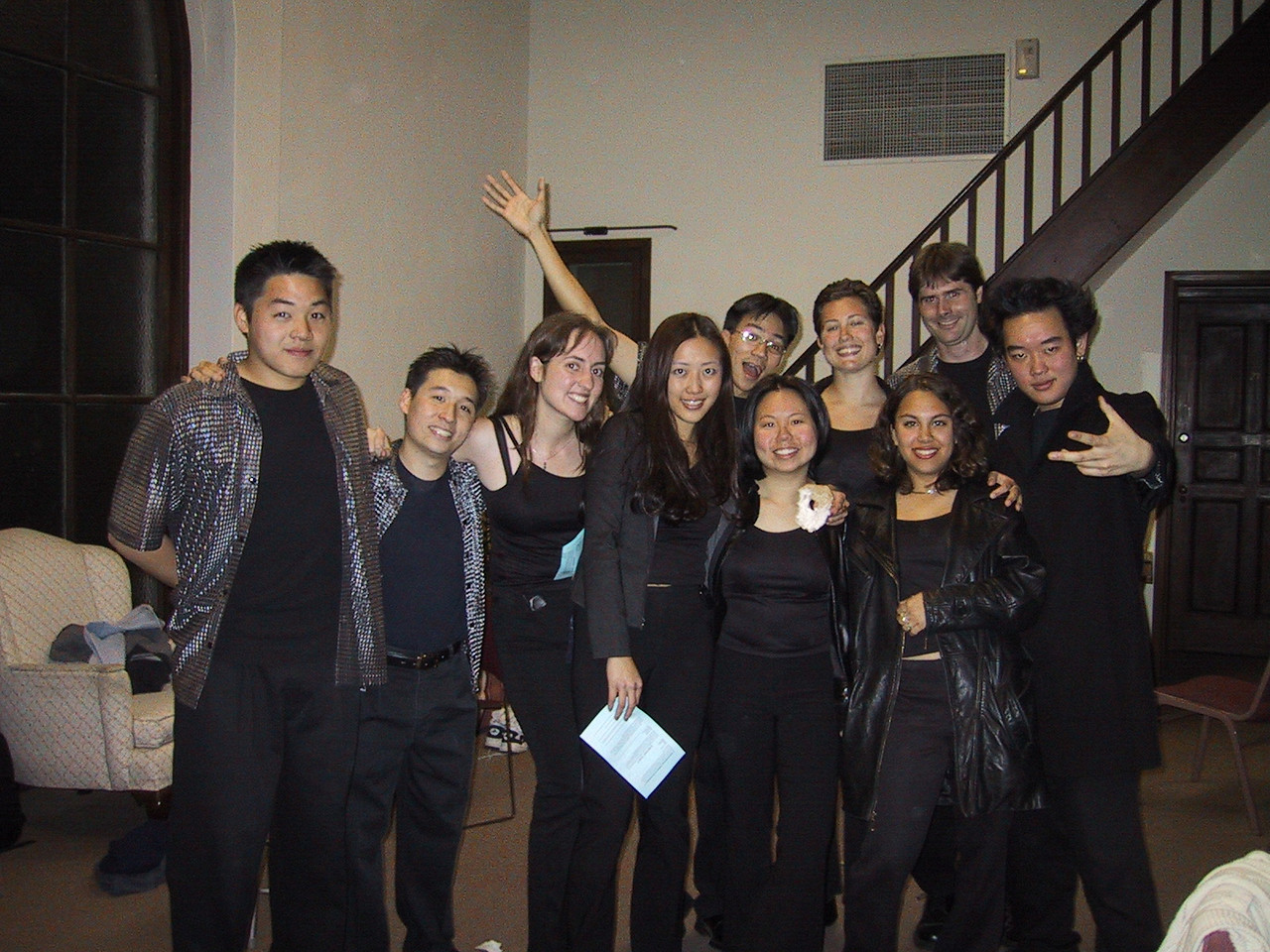 Group Pic before the Gig