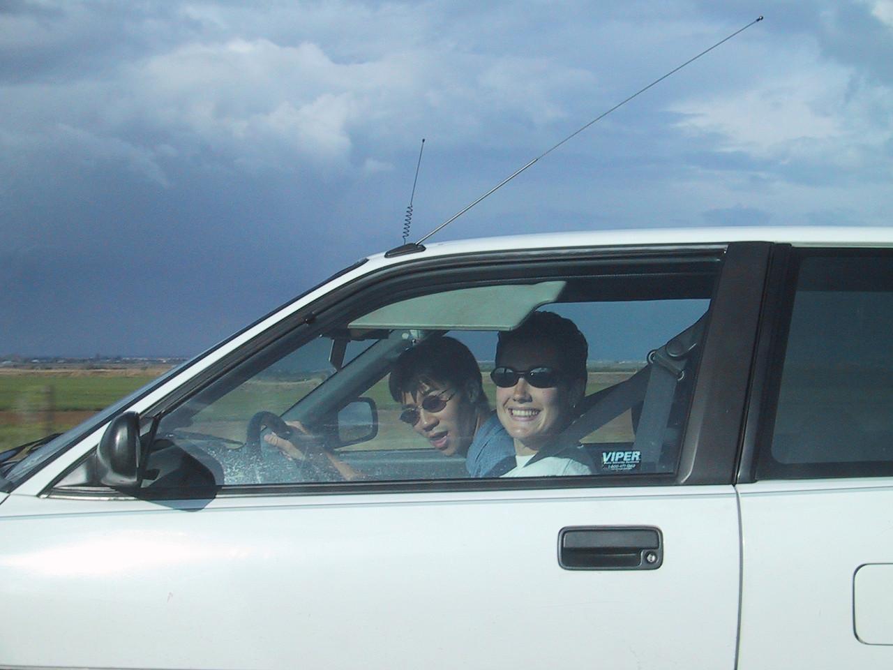 Jen drives Ben crazy