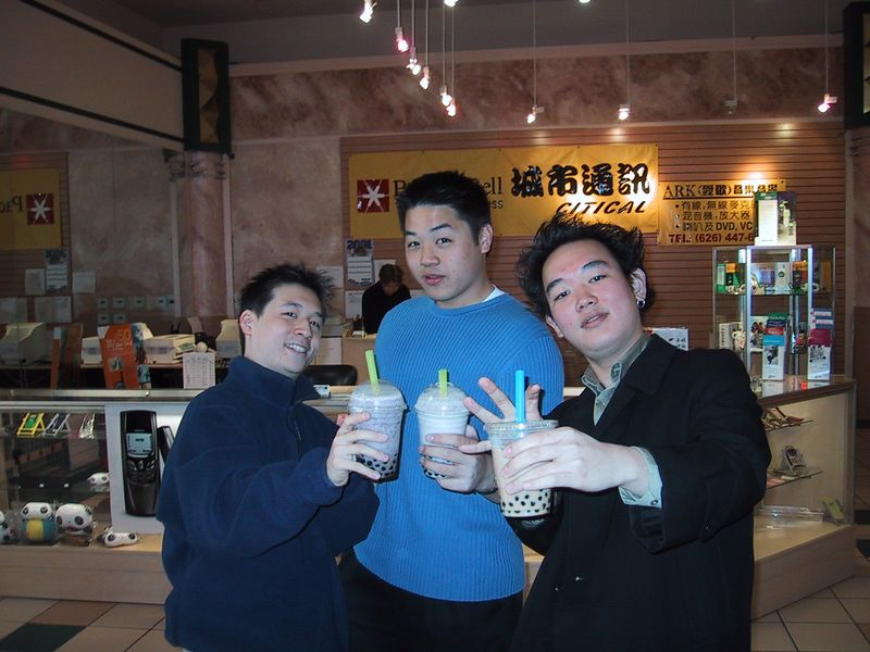 The Three Tenors    & Their Boba's