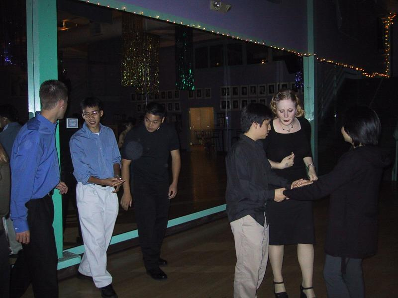 Swingin' lessons - Max, Ben, Tyler, Lenny, Sylvia, X-W