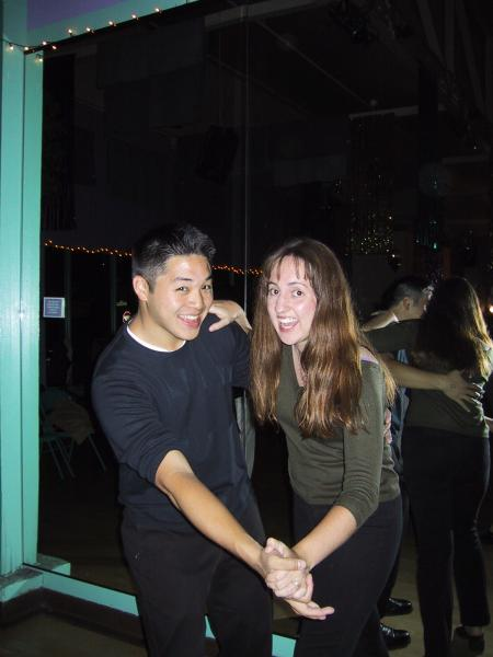Tyler & Sara Swingin'