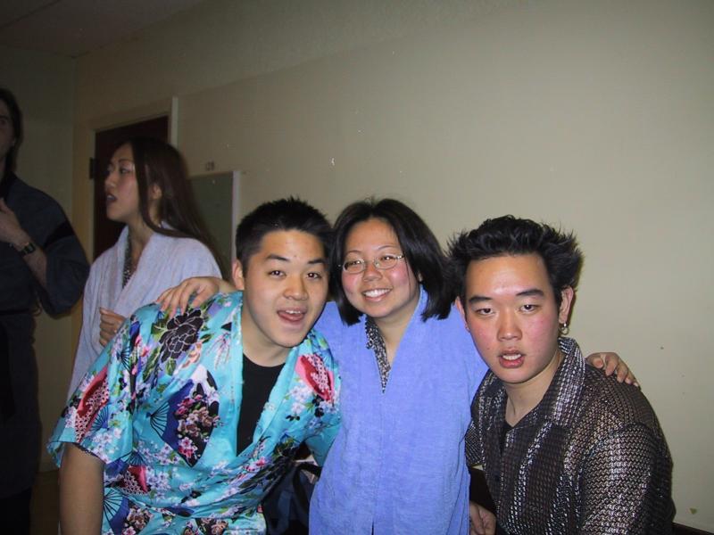 Judy, Tyler, Xiao-Wei, & Robin