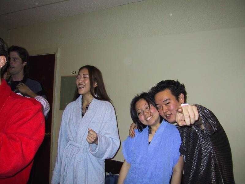 Rhett, Judy, Xiao-Wei, & Robin