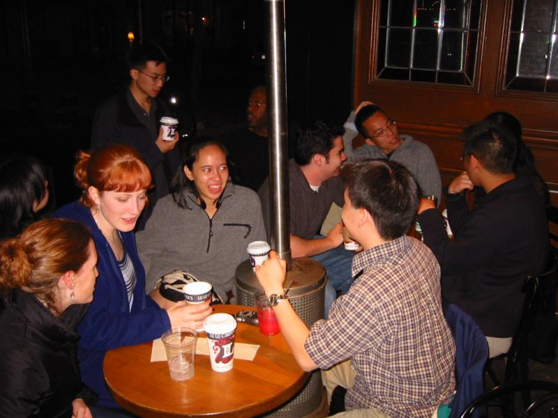 Group lounging @ Cafe