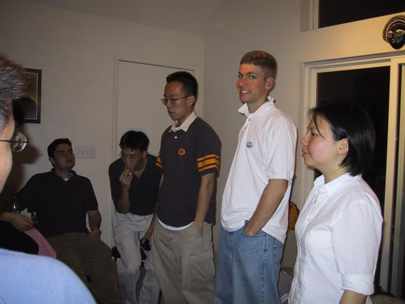 Kenji, Jordan, Ben, Albert, Max, & Xiao-Wei in rehearsal