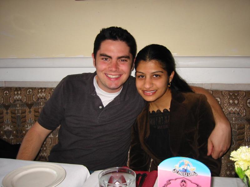 Jordan, Shaila @ restaurant