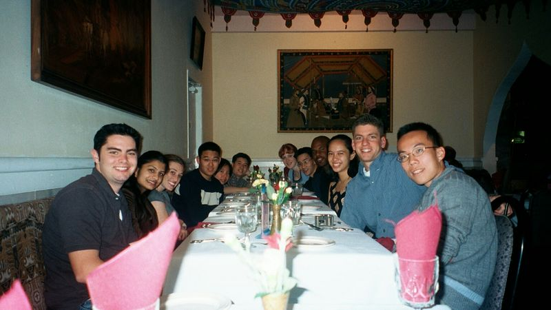 Spring 2002 Retreat Dinner @ Santa Cruz