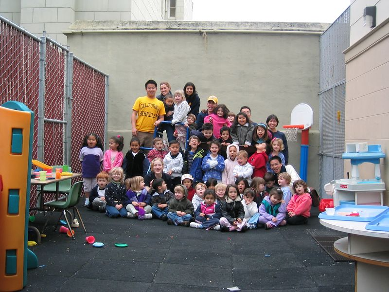 Group photo of St  Paul's Little Angels and AiR