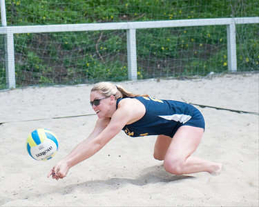 Cal Women's Sand Volleyball, 04/12/2014, morning