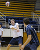 Cal Men's Volleyball scrimmage on 10/25/2009 in the Haas Pavilion.