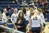 Teresa Costantinidis as Honorary Coach for Cal vs. Santa Clara Saturday, Sep. 10, 2016