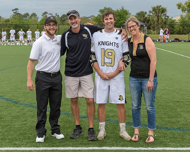 UCF Knights Mens LaCrosse Senior Honors