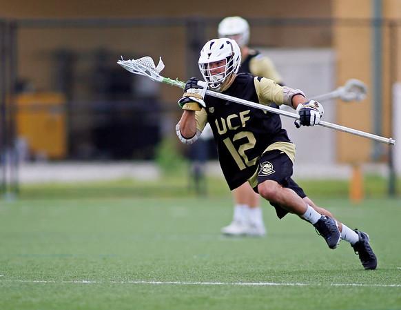 UCF Knights LaCrosse team Alumni game.