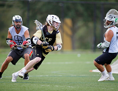 UCF Knights LaCrosse team Alumni game.