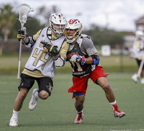 UCF Knights LaCrosse team during their third Fall Game