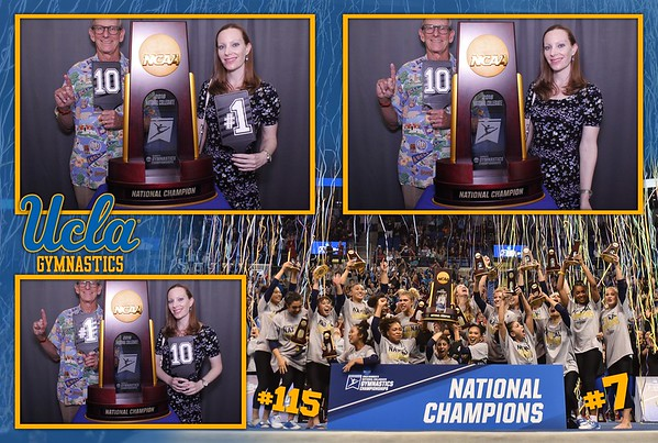 UCLA Gymnastics National Champs Banquet