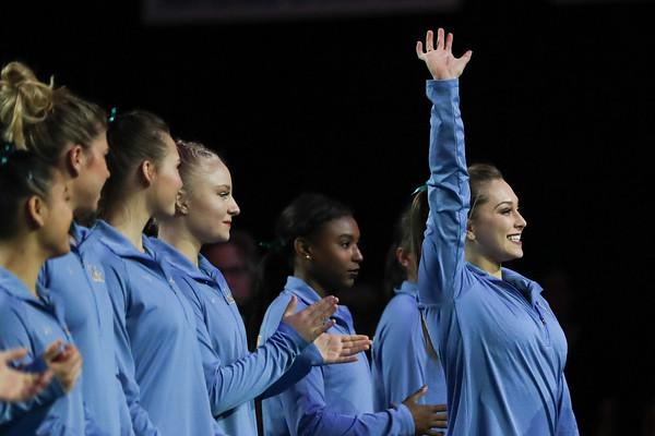2018.2.25 UCLA Gymnastics