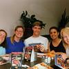 1993 - Denny's - Shannon, Sharon, Greg, Ori & Nathan