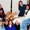1993 - dorm room b - Christie, Amanda, Kim, Susan, Susie, Jana, Marianne, Liz & Cheech