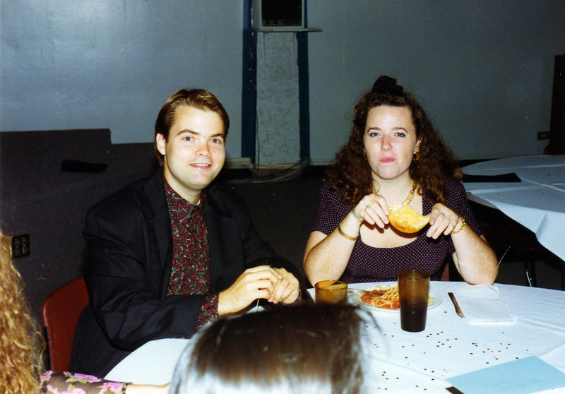 1993 - 6th Floor dinner - Brian & Nancy