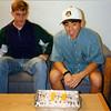 1994 - Justin's 21st - Greg, Justin & cake