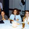 1993 - 6th Floor dinner - Lisa, Susie,Ori & Theresa