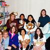 1993 - dorm room a - Kim, Christie, Amanda, Cheech, Jana, Susan, Susie, Liz & Marianne