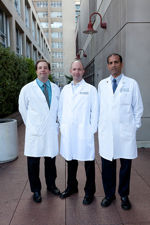 HEARTLINE Photos: Drs. Marcus, Badhwar, Gertenfeld