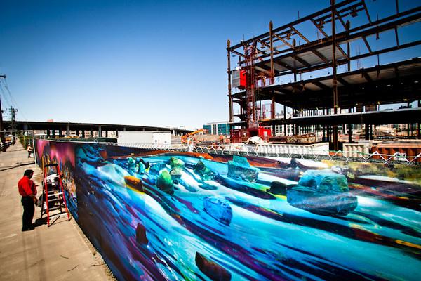 UCSF Mission Bay Art Installation, Liz Hickok