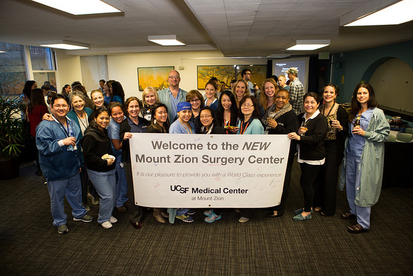 UCSF Mount Zion Surgery Center Reception 01.30.15