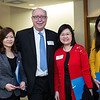 Dorris, Yu, Dean Vlahov, Diana Lee & Helen Chan. Delegation from The Chinese University of Hong Kong, The Nethersole School of Nursing