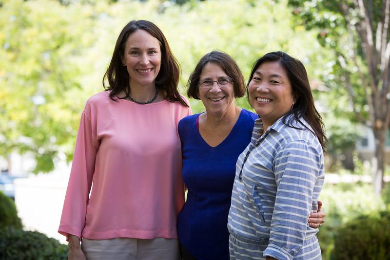 L-R Dr. Petra Steinbuchel, Naomi Schapiro and Shelly Nakaishi