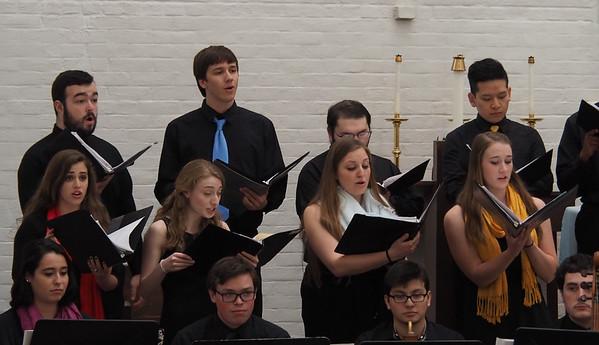 UConn Collegium Musicum Shakespeare Songbook April 2016