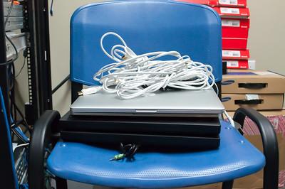 MacBook Pro & 2 Lenovo Laptops Monitor Stands 2 (8-8-16)