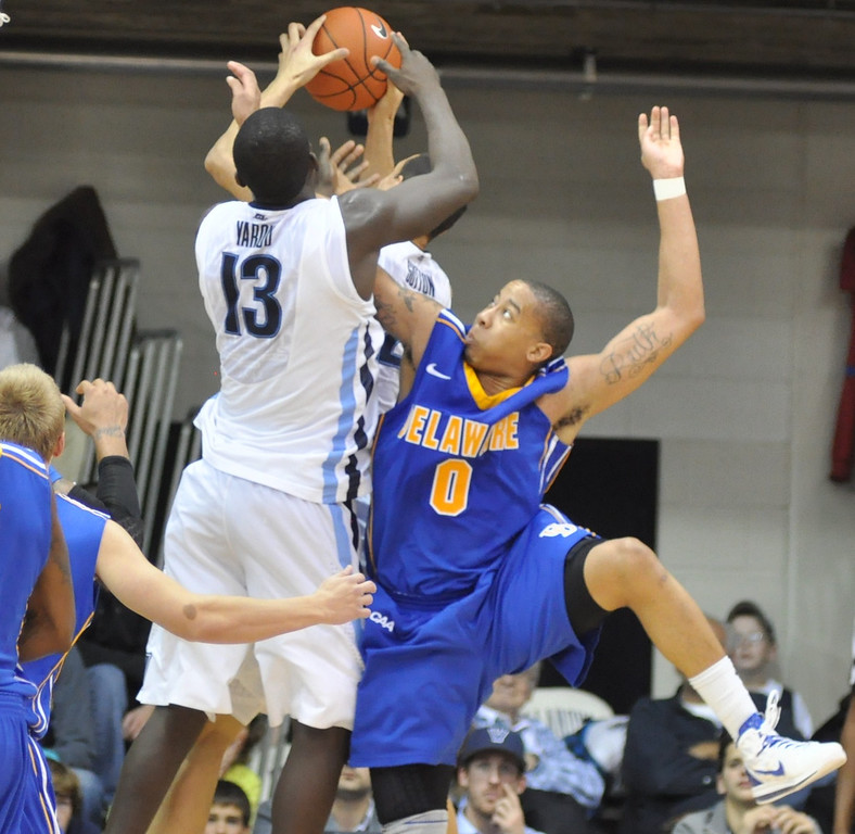 McNeil tries for the rebound