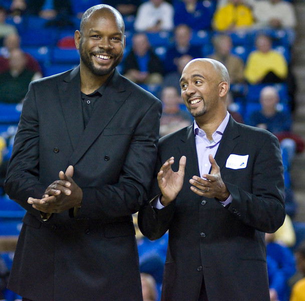 Spencer Dunkley and Andre Buck