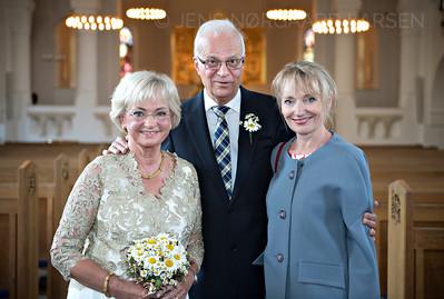 Pia Kjærsgaard fejrer guldbryllup