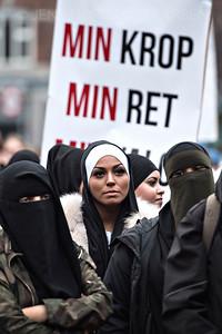 Demonstration mod maskeringsforbud