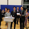 IMG_1120 UEAG President, Marlo Milari turnover check donation of $500 to Ram Nolasco, KCCC Treaasurer