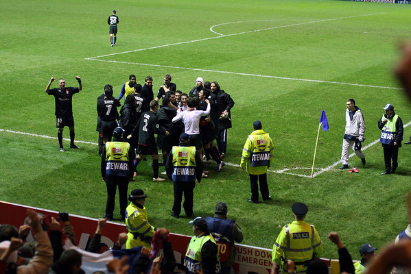 Champion's league Uefa Glasgow Rangers vs Olympique Lyonnais