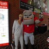 Suzanne Leebern and Hairy Dawg