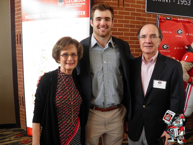 Nancy Black, Jake Fromm, Glenn Black