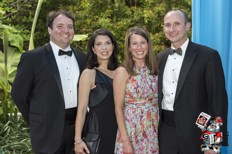 Jon and Catherine Marti, Kelly and Parker Grow