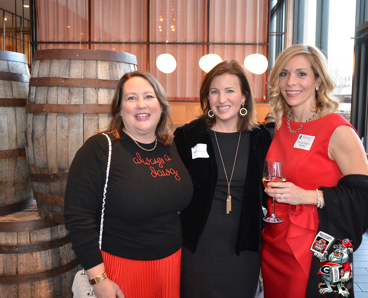 Cheri Leavy  (#23 The Southern Coterie), Molly Grogan, Christy Grogan Shadday (#84 FTM Travel)