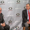 Billy Payne and Vince Dooley (L)